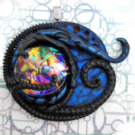 Pendentif tentacule cabochon boréal
