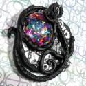 Bio-mecha embryo pendant