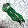 Pendentif méduse circuit imprimé vert