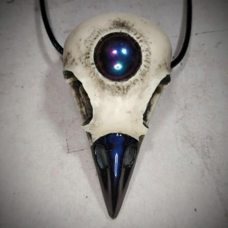 crâne corbeau, sphère psychique mystique ésotérique divination
