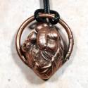 Human eye pendant