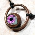 Strange eye pendant